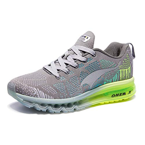 18. ONEMIX Men's Air Cushion Outdoor Sport Running Shoes Lightweight Walking Sneakers