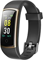 YAMAY Smartwatch Orologio Fitness Tracker Pressione Sanguigna Uomo Donna Cardiofrequenzimetro da Polso IP68 Smart Watch...
