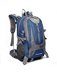 40L Mens impermeable al aire libre impermeable deportes mochila viajes de senderismo camping bolsa mochila bolsa