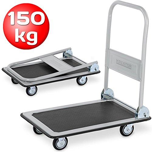 Plattformwagen klappbar 150 kg Tragkraft, Tragkraft 150 kg