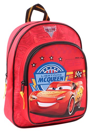 Disney 760–8186 Coupe 31 cm Cars expérience Junior Sac à dos avec poche frontale
