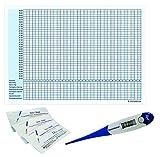 Thermometer Domotherm 0830 Rapid mit 5 Zykluskalendern und 5 One+Step Schwangerschaftstests