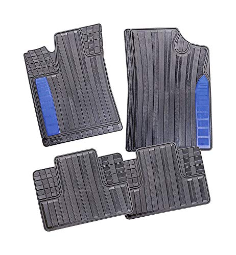 Qiyun Extension B/équille lat/érale Kit de Protection Anti-Chute lat/érale r/églable en Alliage daluminium pour Moto Support Moto Bleu