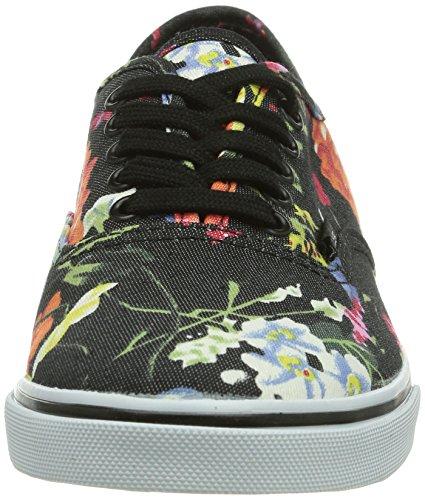 Vans U AUTHENTIC LO PRO (FLORAL) BLACK/ Unisex-Erwachsene Sneakers Schwarz ((Floral) Black/ E08)