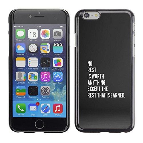 Graphic4You Dont Settle Love Englisch Zitat Nachricht Harte Hülle Case Tasche Schutzhülle für Apple iPhone 6 / 6S Design #17
