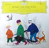 """Prokofiew: Peter und der Wolf Ein musikalisches Märchen / Sprecher: Mathias Wieman Berliner Philharmonisches Orchester / Dirigent: Fritz Lehmann 10"""" Vinyl"""