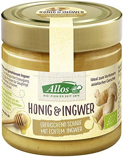 Allos Bio Honig & Ingwer (1 x 250 gr)