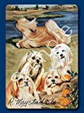 Lhasa apso Dog Playing Cards designed by Ruth Maystead (lha-pc)