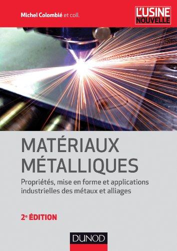 Matériaux métalliques - 2e édition - NP
