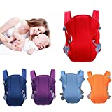 #9: 1 Pc Adjustable Hands-Free 4-in-1 Baby Carrier with Comfortable Head Support & Buckle Straps Random Color