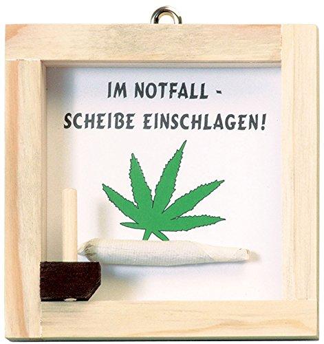 Notfallset Joint Marihuana Joke Notfall Scherzartikel (Marihuana Joint Kostüm)