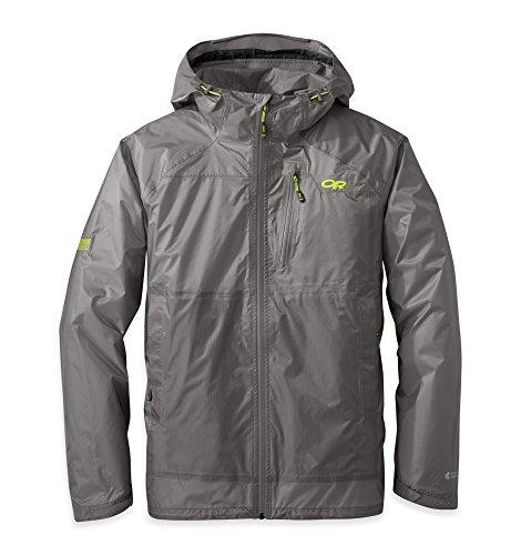 Outdoor Research Helium HD Jacket pewter/lemongrass