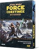 Asmodee - UBISWF01 - Star Wars - Force et Destinée - Kit d'Initiation