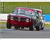 Photographic Print of CM7 4039 Andrew Banks, Max Banks, Alfa Romeo Giulia Sprint GTA