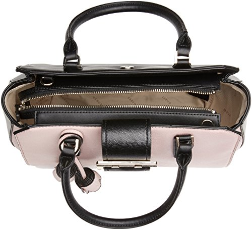 Guess 6856060, Borsa a Mano Donna Multicolore (Black Stripe)