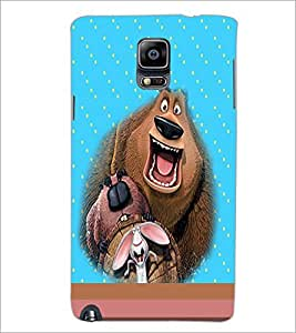 PrintDhaba Funny image D-4696 Back Case Cover for SAMSUNG GALAXY NOTE 3 (Multi-Coloured)