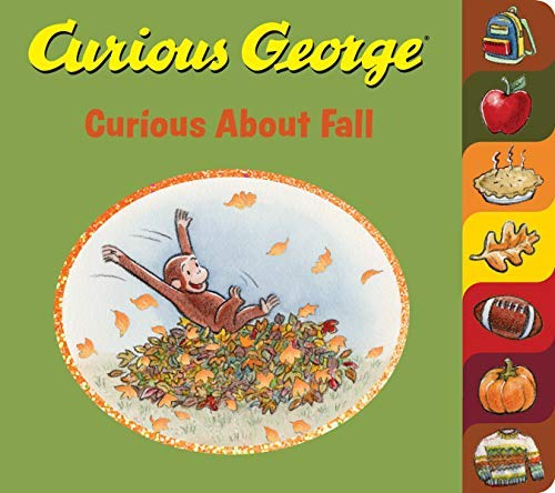 Curious George Curious About Fall (English Edition)