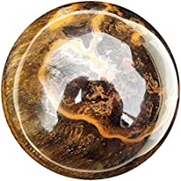 Green Cross Toad Tiger Eye Crystal Ball Edelstein Kugel für Zukunft Gazing und Wahrsager, 74mm, 620g (TE9) preisvergleich bei billige-tabletten.eu