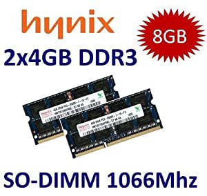kIT 8GB HYNIX RAM DDR3 1066 Mhz Apple MacBook Pro iMac