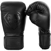 Venum Contender Guantes de Boxeo, Unisex Adulto, Negro/Matte, 16 oz