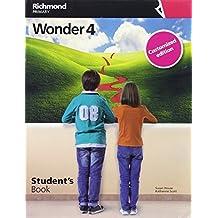WONDER 4 STUDENT'S CUSTOMIZED - 9788466823166