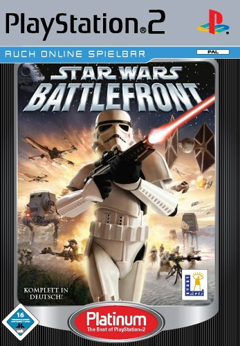 Star Wars - Battlefront (Alle Ps2-action-spiele)