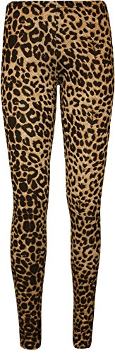 Classic Animal Leopard Print Leggings. Sizes 8 to 14. Low Cost and great customer reviews