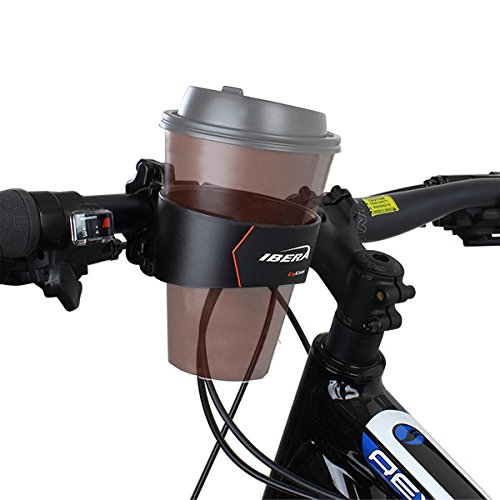 Ibera Fahrrad-Kaffeehalter, Becherhalter, Dosenhalter, Mountain Bike Handlebar Coffee, Water Cup Holder Cage -