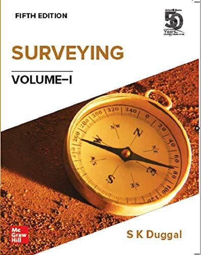 Surveying Volume - 1, 5th Edition
