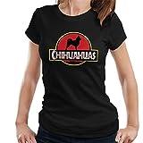 Chihuahua T-Shirt Frauen Jurassic Park