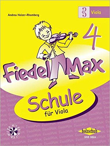 Fiedel Max - Schule für Viola, Band 4, mit CD
