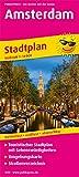 Amsterdam: Touristischer Stadtplan mit Sehenswürdigkeiten und Straßenverzeichnis. 1:14.000 (Stadtplan / SP)