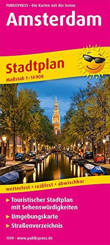 Amsterdam: Touristischer Stadtplan mit Sehenswürdigkeiten und Straßenverzeichnis. 1:14.000 (Stadtplan / SP) (Stadtplan Amsterdam)