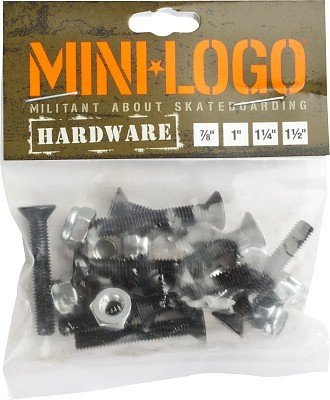 Mini-Logo Skateboard Hardware 1 inch by Mini-Logo