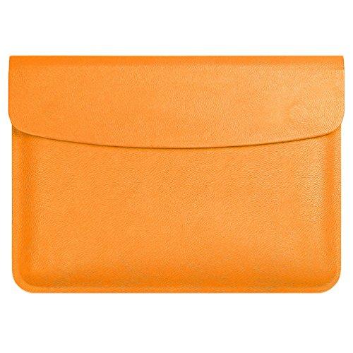 YiJee MacBook Air / Pro Laptop Hülle Notebook Tasche Schutzhülle Aktentasche 11.6 Zoll Orange 1