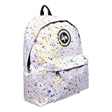 Hype Sac à dos Sac à dos-Coloris Assortis - Blanc - Primary Splat White, Taille...