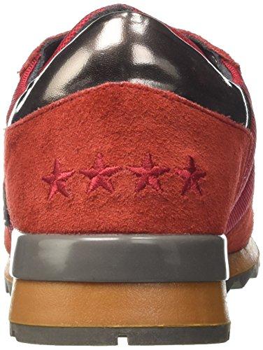 Unisex a Rosso 4461106 Basso Invicta Adulto Collo Tegola Sneaker BT1pxnA