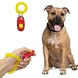 #9: Pet Training Clicker With Wrist Strap For Dog / Cat / Kitten / Puppy / Bird (Red)