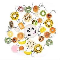 ROSENICE Squishy alimenti Panda pane torta fascino