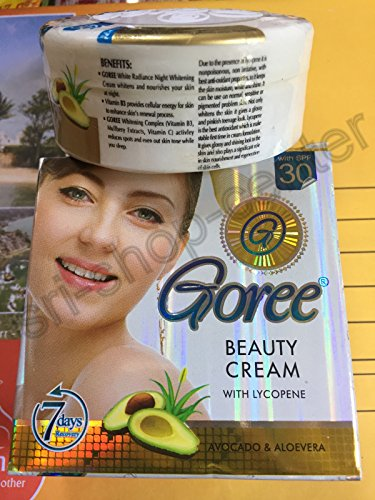 GOREE BEAUTY CREAM WHITENING ANTI AGEING SPOTS PIMPLES REMOVING ORIGINAL