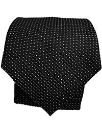Blacksmith Slim Black Formal Tie for Men