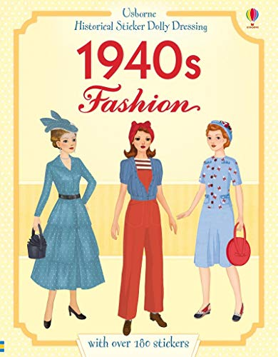 The Historical 1940s Fashion (Historical Sticker Dolly Dressing)