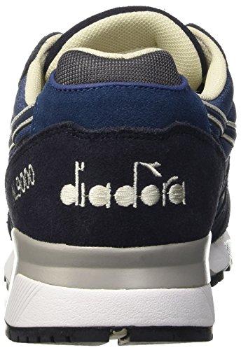 Diadora Herren N9000 Nyl Ii Pumps Blu (Blu Insegna/Nero Fumo)