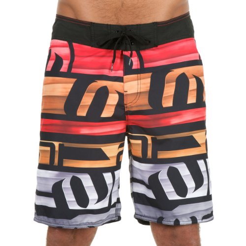 Animal 2013 Mens Brogue Board Shorts In Black Picture