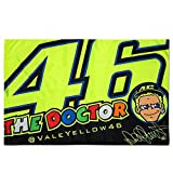 Valentino Rossi VR46 Moto GP The Doctor Flagge Offiziell 2018