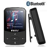 RUIZU Bluetooth 4.1 MP3 Player 8GB Mini Sport Musik Player mit Clip, 30 Stunden Wiedergabe Musikplayer mit FM Radio, Unterstützt bis 128 GB SD Karte