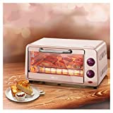 QPSGB Ovens-Mini Oven With Grill,10Litre Fast Heating Toaster Oven,Cooking Functions,Includes Grill Rack & Baking Tray -2441 oven