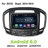 20,3cm Android 6.0.1Auto GPS Navi DVD player für Buick Regal 2014–2016Octa Core 2GB RAM 32G ROM Auto Radio Multimedia Head Unit
