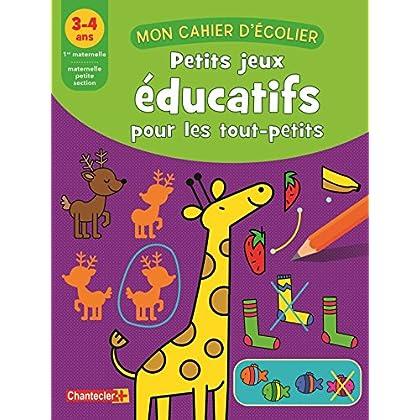 Petits jeux éducatifs pour les tout-petits : 3-4 ans