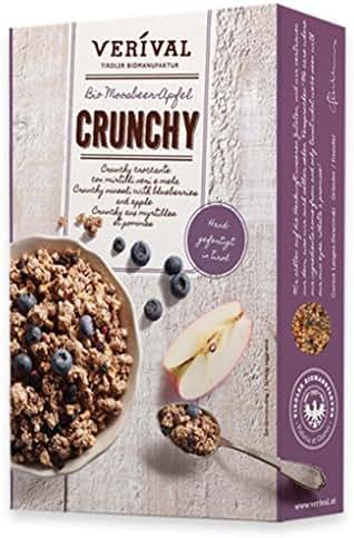 Crunchy myrtilles pommes 325g